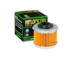 Filtre à huile Hiflofiltro HF186 Aprilia Scarabeo 125 i.e. 2009-2012 / Scarabeo 200 i.e. 2011-2012