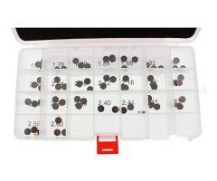 Coffret de pastilles de réglage de soupape Prox Ø8.9mm 1.72 jusqu'a 2.60mm KTM / Husqvarna / Husaberg