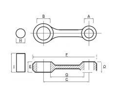Kit bielle Prox Yamaha XT 600 EH / XT 600 EN ...