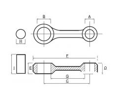 Kit bielle Prox KTM SX-F 450 / SMR 450 ...
