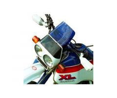 Bulle / Pare-brise Bullster 19cm Marron Clair Honda XLV 750 1983-1986