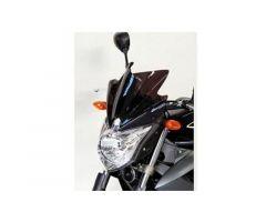 Bulle / Pare-brise Bullster 25cm Noir Fumé Yamaha XJ6 N 2009-2014