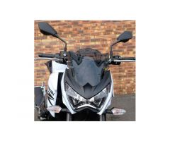 Bulle / Pare-brise Bullster 28,5cm Noir Fumé Kawasaki Z 800 2013-2016