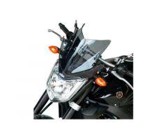 Bulle / Pare-brise Bullster 28cm Noir Fumé Yamaha FZ1 N 2006-2015