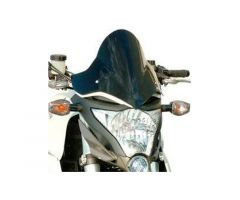 Bulle / Pare-brise Bullster 31cm Noir Fumé Honda CB 1000 R 2008-2014