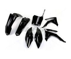 Kit plastiques complet UFO Noir Honda CRF 250 R 2014-2017