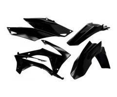 Kit plastiques complet Acerbis Noir Honda CRF 450 R 2013-2016