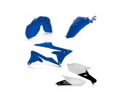 Kit plastiques complet Acerbis Blanc / Bleu Yamaha 250 WRF 2018