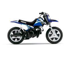 Kit plastiques complet ART Bleu Origine + Kit déco Kutvek Racer Bleu + Selle Noir Yamaha PW 50