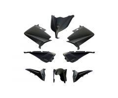Kit carénages BCD avec poignées arrière / avec rétroviseurs Noir Mat Yamaha 530 T-Max 2012-2014