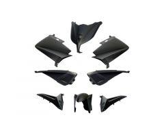 Kit carénages BCD sans poignées arrière / avec rétroviseurs Noir Mat Yamaha 530 T-Max 2012-2014