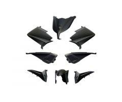 Kit carénages BCD sans poignées arrière / sans rétroviseurs Noir Mat Yamaha 530 T-Max 2012-2014