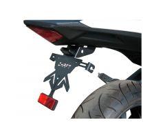 Support de plaque d'immatriculation Chaft CBF 600 Hornet / CBR 600F 2011-2013