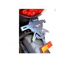 Support de plaque d'immatriculation Chaft Kawasaki Z 1000 / Z1000 SX 2010-2013