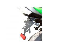 Support de plaque d'immatriculation Chaft Kawasaki Z 750 2007-2012 / Z 1000 2007-2009