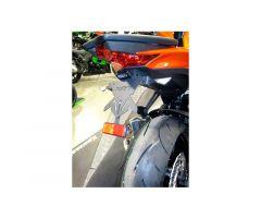 Support de plaque d'immatriculation Chaft Kawasaki Z1000 2014