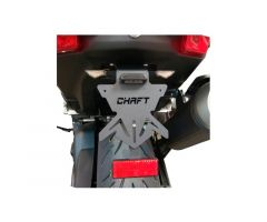 Support de plaque d'immatriculation Chaft Yamaha T-Max 530 2017-2018