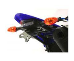 Support de plaque d'immatriculation R&G Noir Yamaha WR 250 X 2008-2011