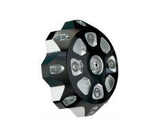 Bouchon de réservoir d'essence Moose Racing Alu Noir / Argent KTM SX / SXF / EXC / MXC
