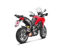 Double silencieux d'échappement Akrapovic Titane Ducati Multistrada 950 2017-2018
