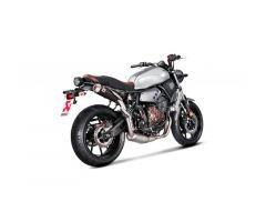 Ligne d'échappement complète Akrapovic Racing Line Inox / Titane Yamaha XSR 700 2016-2017