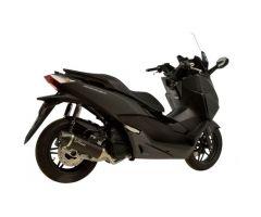 Ligne d'échappement complète Leovince Nero Inox / Noir / Carbone Honda NSS 125 AD 2015-2016