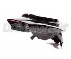 Coques arrière BCD + feu a led + passage de roue Noir MBK Booster 04