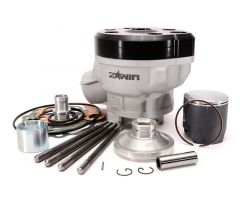 Kit cylindre 2Win Ripper 80cc culasse à plot bielle 85mm course 44mm AM6