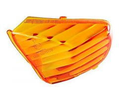 Cabochon de clignotants arrière / droit 101 Octane Orange Peugeot / AGM / ATU / Baotian / Benzhou ...