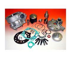 Kit cylindre Athena 125CC avec culasse Yamaha DT 125 RE / DT 125 RH ...