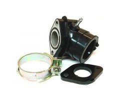 Pipe d'admission 101 Octane para carburadores 24mm 4T AGM / Aiyumo / AJS / ATU / Azel...
