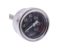 Bouchon de carter d'huile avec indicateur de température JMP 18X1.5mm Vespa LX 50 2T / S 50 2T ...