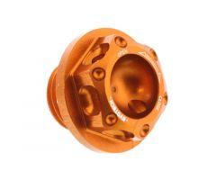 Bouchon de carter d'huile Evotech 16X1.5mm Orange KTM Duke 390 / RC 390 ...