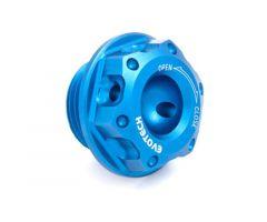 Bouchon de carter d'huile Evotech 20X1.5mm Bleu Kawasaki / Aprilia / Benelli