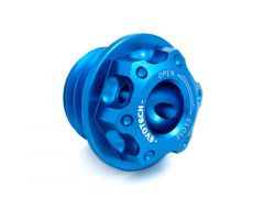 Bouchon de carter d'huile Evotech 20X2.5mm Bleu Honda / Yamaha / Kawasaki / Ducati / Triumph