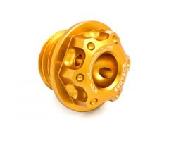 Bouchon de carter d'huile Evotech 20X2.5mm Or Honda / Yamaha / Kawasaki / Ducati / Triumph