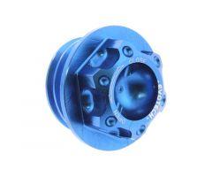 Bouchon de carter d'huile Evotech 24X3.0mm Bleu Honda / Husqvarna / MV Agusta / BMW