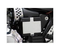 Cache de batterie Fehling Chromé Triumph Speedmaster 865 / America 865 ...