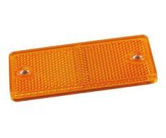 Catadioptre adhésif JMP rectangle 90x40mm Orange