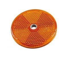 Catadioptre adhésif JMP rond 60mm Orange