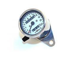 Compteur de vitesse Daytona mecanico 60mm M12X1.0mm Chromé