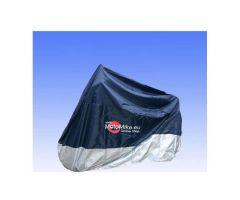 Housse de moto JMP pour extérieur taille M Bleu / Argent