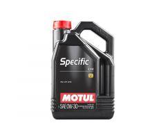 Huile de moteur Motul Sintetico Specific 0w30 4t 5L 2312