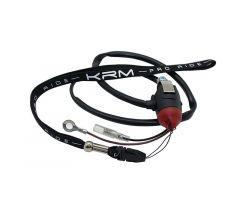 Coupe circuit KRM Pro Ride aimanté Noir