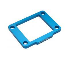 Cale de boîte à clapets KRM 5mm Derbi Bleu