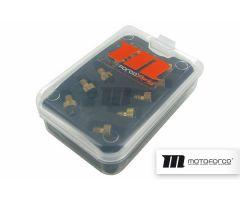 Coffret de 10 gicleurs Motoforce Racing PHVA-PHBN-VHST de 100 à 122