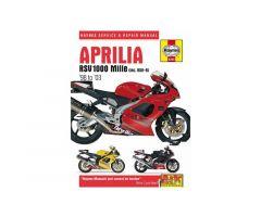 Revue technique Haynes en Anglais Aprilia RSV 1000 1998-2003 / RSV 1000 R 2000-2003