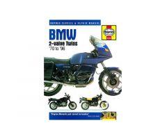 Revue technique Haynes en Anglais BMW R 65 2.Serie / R 65 1.Serie ...