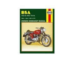 Revue technique Haynes en Anglais BSA A50 500 / A50 500 C ...
