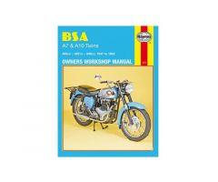 Revue technique Haynes en Anglais BSA A7 500 / A10 650 ...